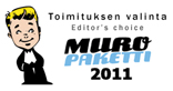 Award from muropaketti.com