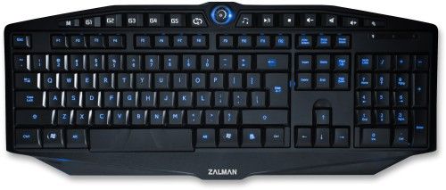 The Zalman ZM-K400G - Click to enlarge