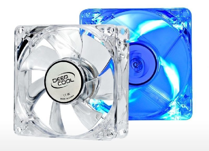 DeepCool ���������� Fan 80mm Blue LED Xfan 80L - 1800rpm