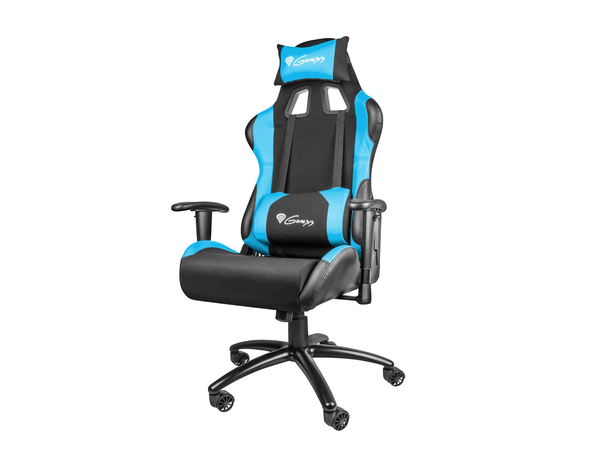 Genesis Gaming Chair Nitro 550 Black Blue Nfg 0783