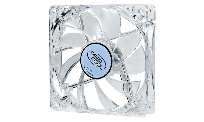Fan 120mm White LED Xfan 120 L/W - 1300rpm