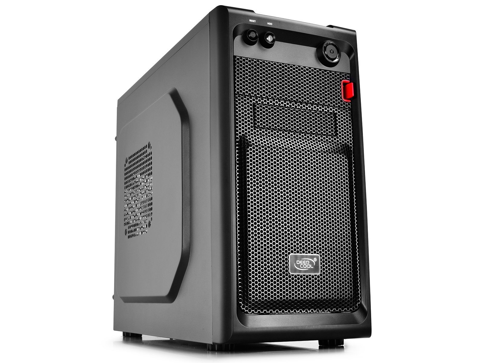 Case mATX SMARTER - Black, USB3.0