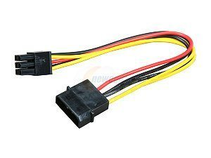 Cable Adaptor Molex(4pin) to PCI-E
