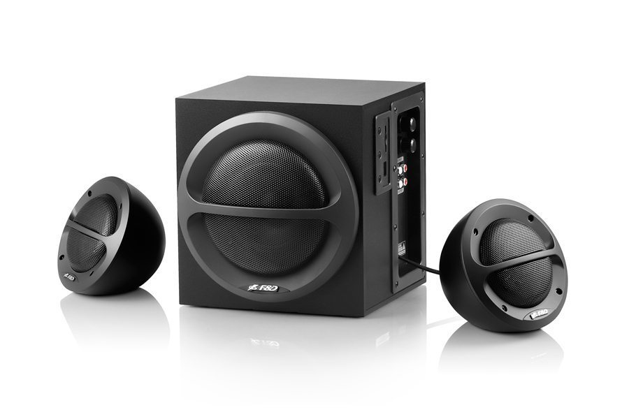 Fenda F&D Speakers 2.1 - A111 - 35W RMS -  USB/SD MP3/WMA Playback
