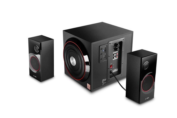 Fenda F&D Speakers 2.1 - A333U USB/SD MP3 Playback - 42W RMS