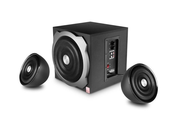 Speakers 2.1 - A510 - 52W RMS