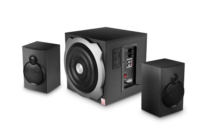 Fenda F&D Speakers 2.1 - A521 USB/SD MP3 Playback - 52W RMS