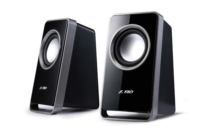 Speakers 2.0 - V520 USB - 4W RMS