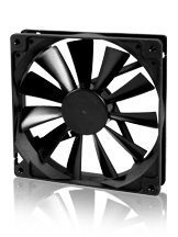 Evercool Fan 140x140x25 2Ball (1200 RPM) - EC14025L12BA