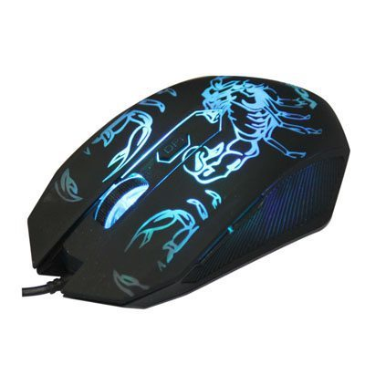 Mouse optical Gaming 2400dpi Color leds - DM416