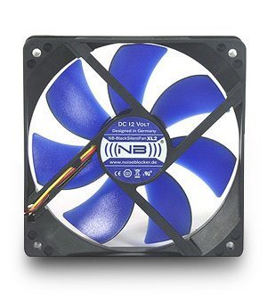 Noiseblocker 120mm NB-BlackSilentFan XL2 Rev3.0+Slics 1500rpm