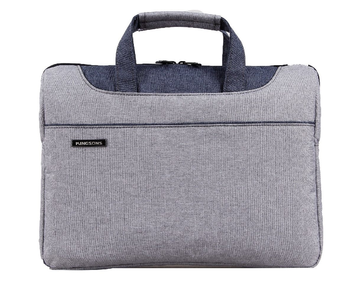 Kingsons Laptop Bag 13.3� KS3093W-BG :: Concord Series - Grey