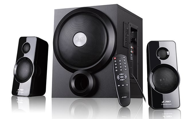 Speakers 2.1 - A350U - 46W RMS - USB MP3/Remote