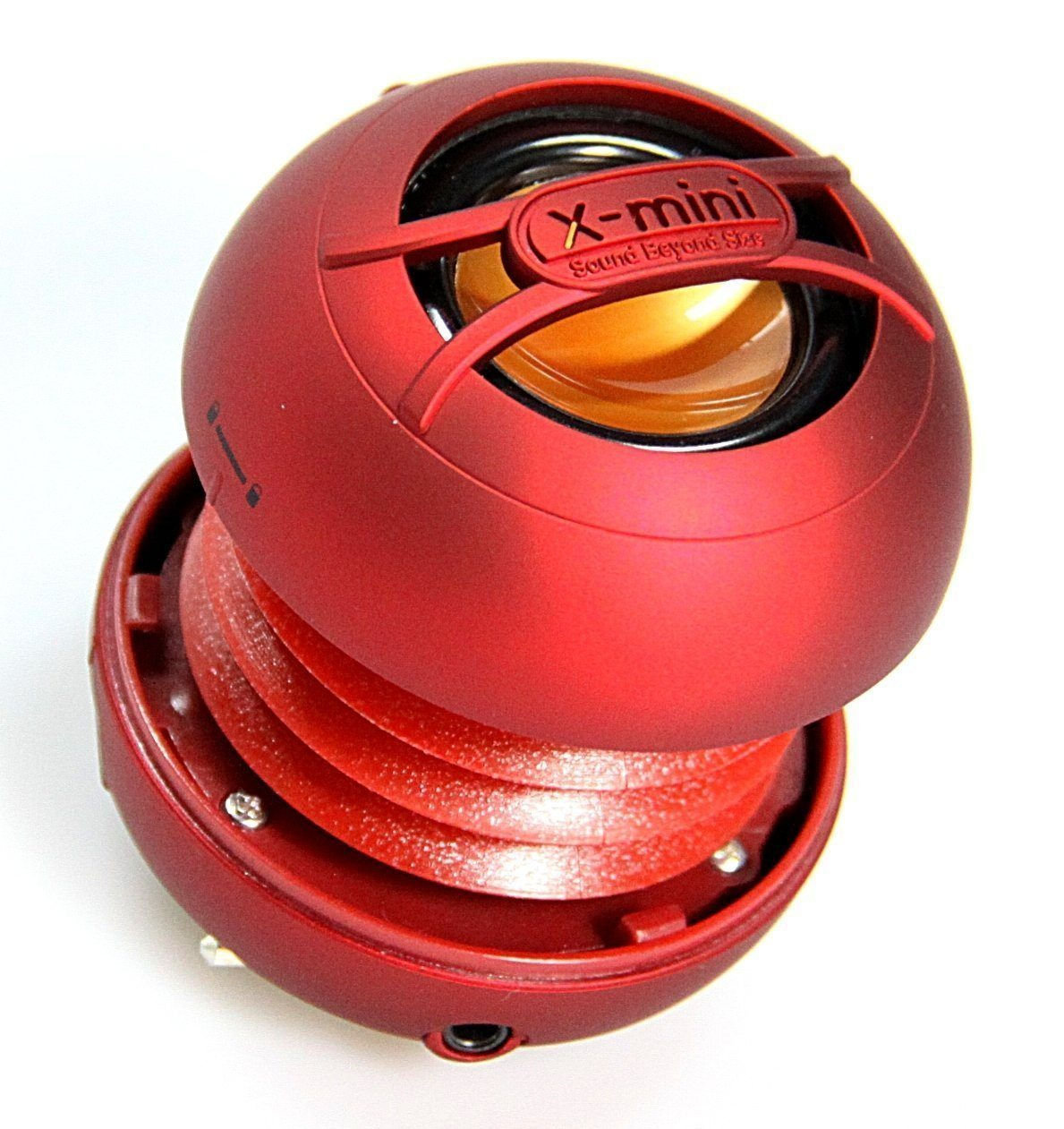 X-mini UNO Portable Capsule Speaker - Red