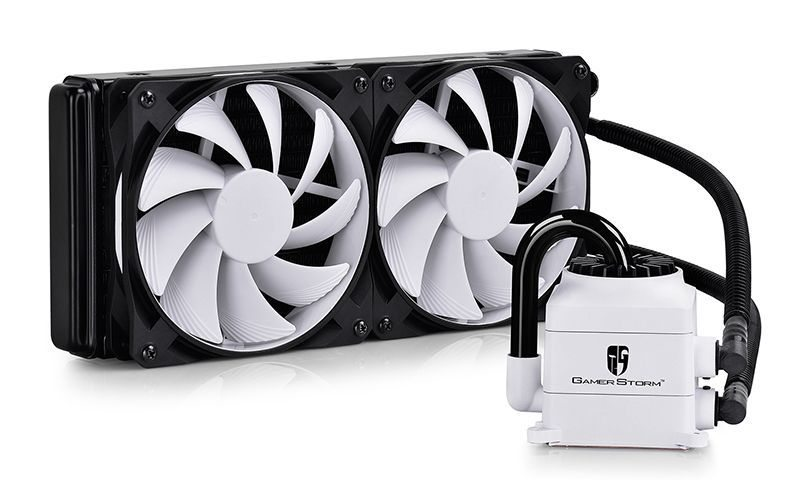 Water Cooling CAPTAIN 240 WHITE - Intel/Amd