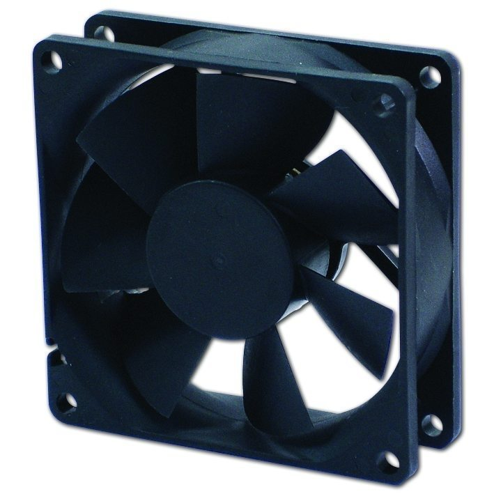 Fan 80x80x25 2Ball (4000 RPM) - 8025TH12BA