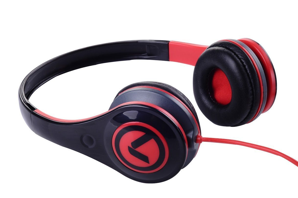 Freestylers - Headphones (Black & red) AM2002/BKR