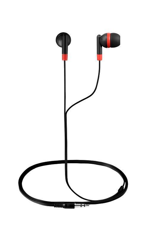 Revolutionary In-earphones Black&red AM1001/BKR