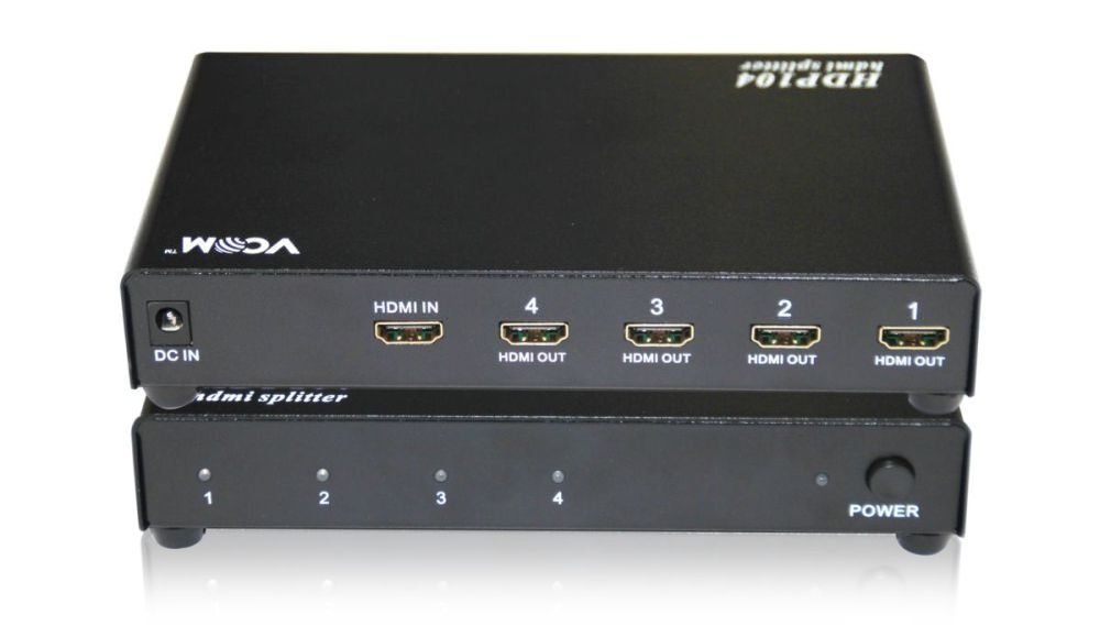VCom HDMI SPLITTER Multiplier 1x4 - DD414A
