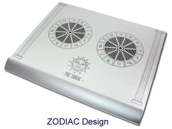 Evercool Notebook cooler aluminium alloy - The Zodiac