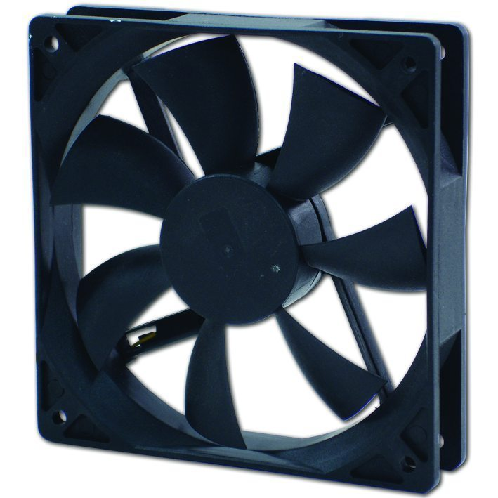 Evercool Fan 120x120x25 2Ball (1200 RPM) EC12025SL12BA