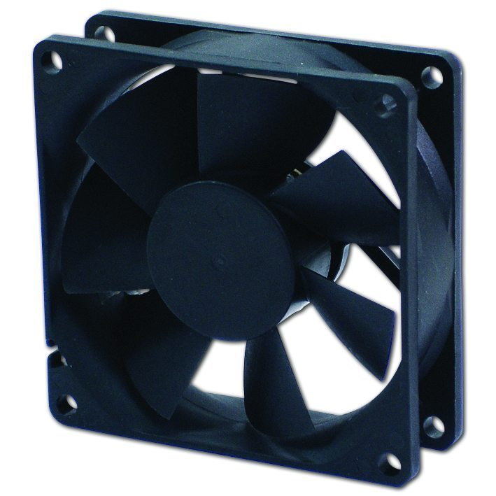 Fan 80x80x25 2Ball (1400 RPM) EC8025LL12BA
