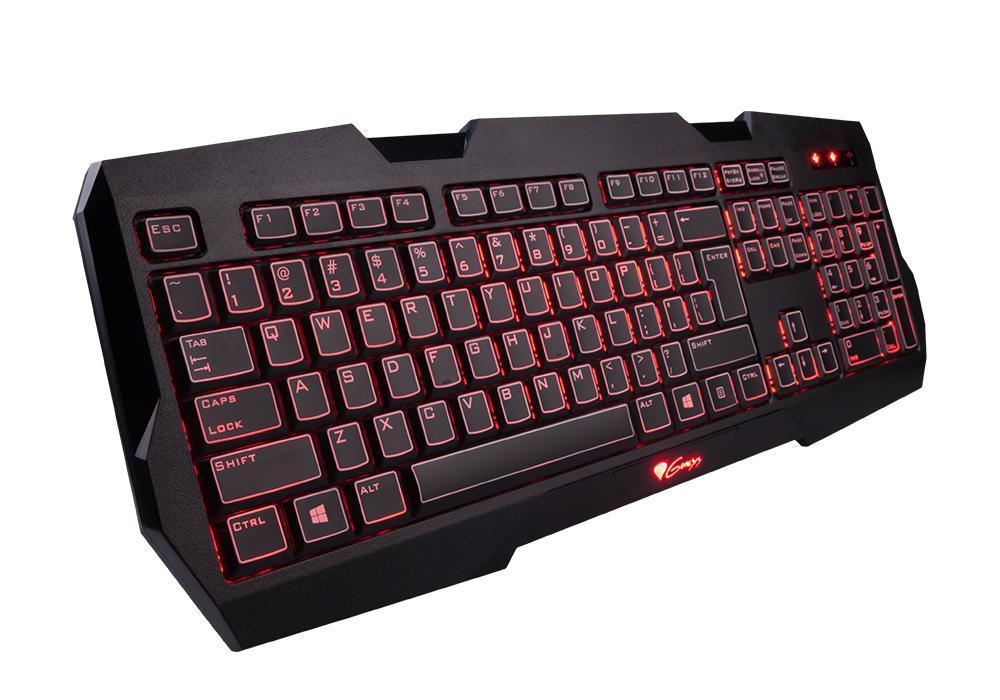 Natec Genesis Gaming Keyboard RX22 Backlight US Layout