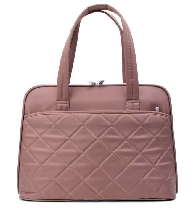 "Laptop Bag 15.4"" KS3009W-C :: Ladies in Fashion Series - Coffee"