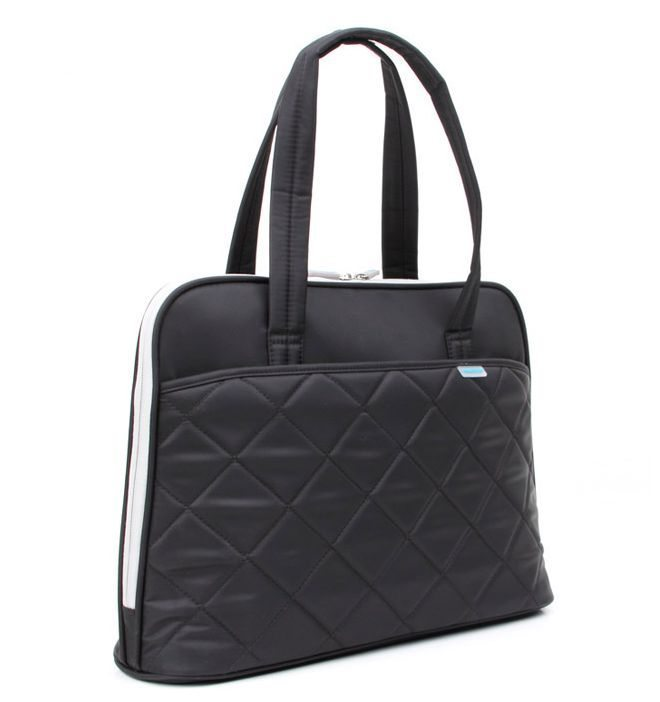 "Laptop Bag 15.4"" KS3009W-B :: Ladies in Fashion Series - Black"