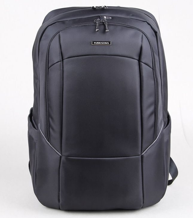 Kingsons Laptop Backpack 15.6� KS3077W-A :: Prime Series - Black