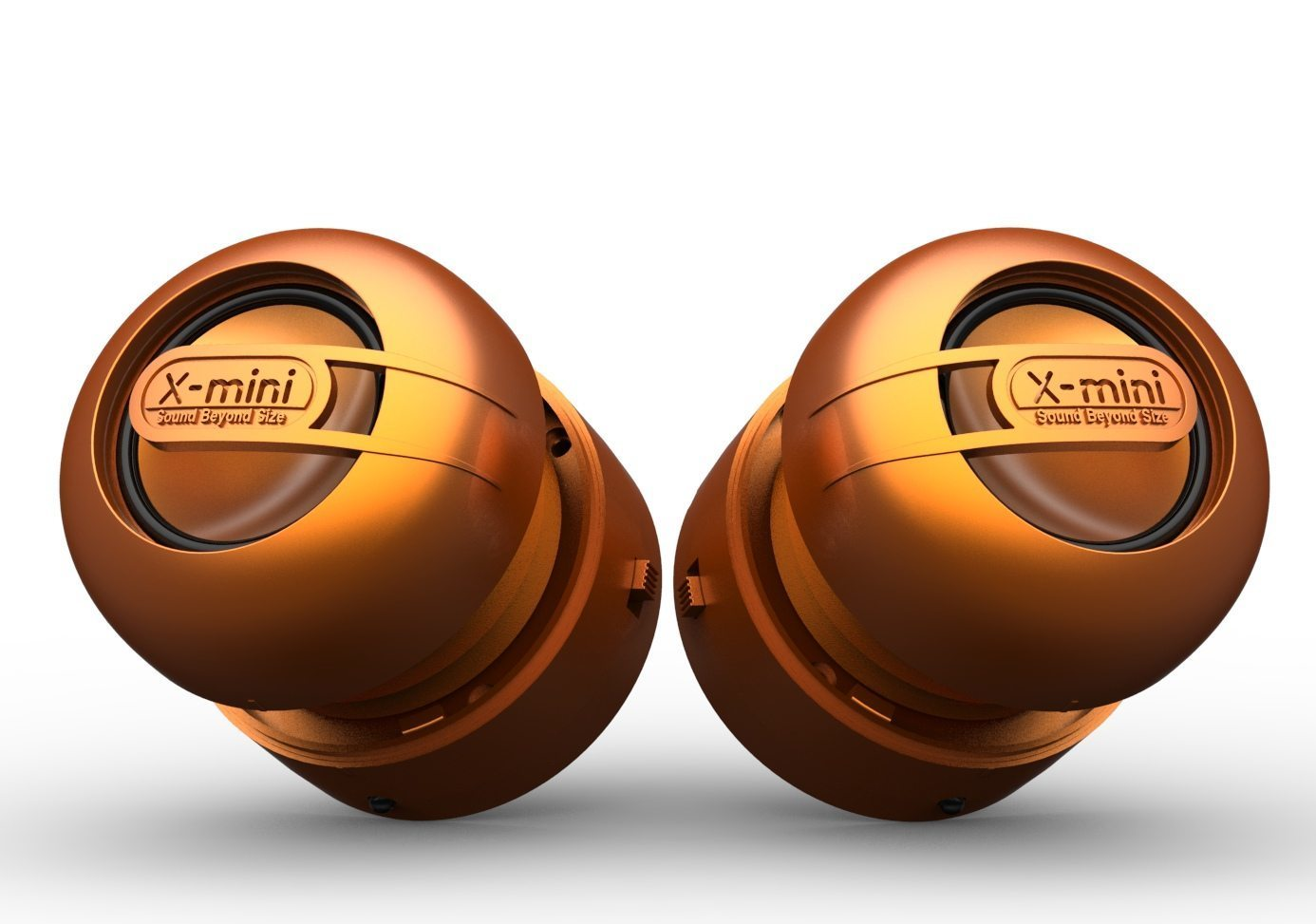 X-mini MAX Portable Capsule Speaker - Orange