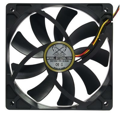 Fan 120mm - Slip Stream/Small Center Hub 1900rpm