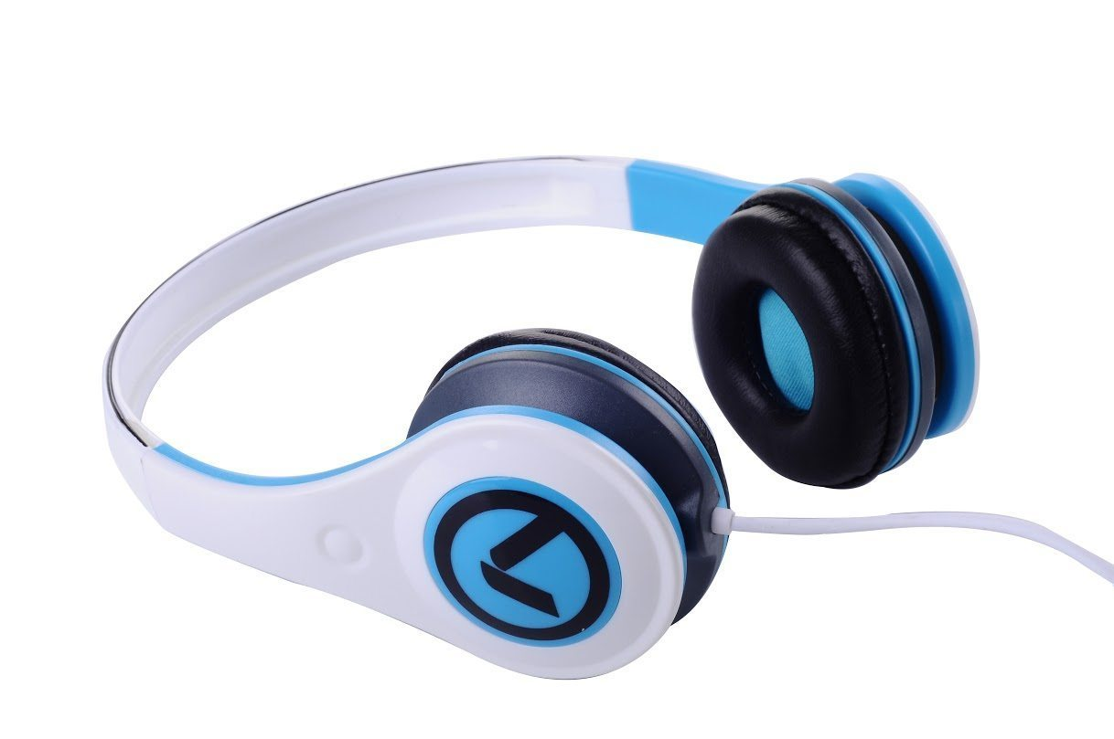Freestylers - Headphones (White & blue) AM2002/WB