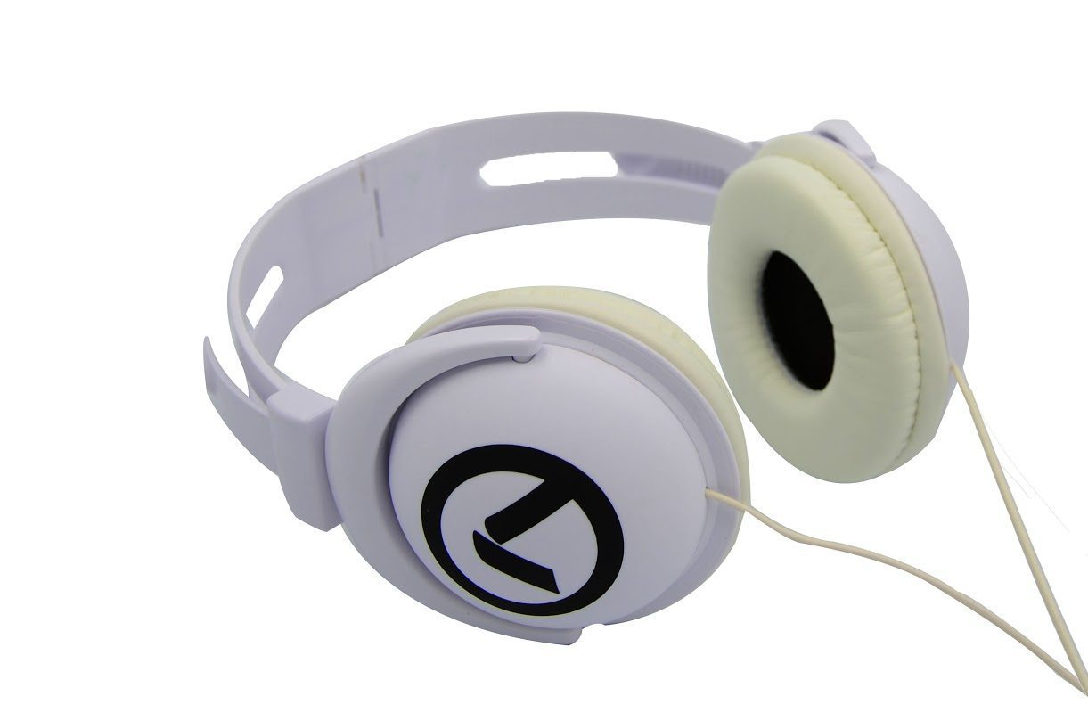 Funky Beats - Headphones (White & black) AM2001/WBK