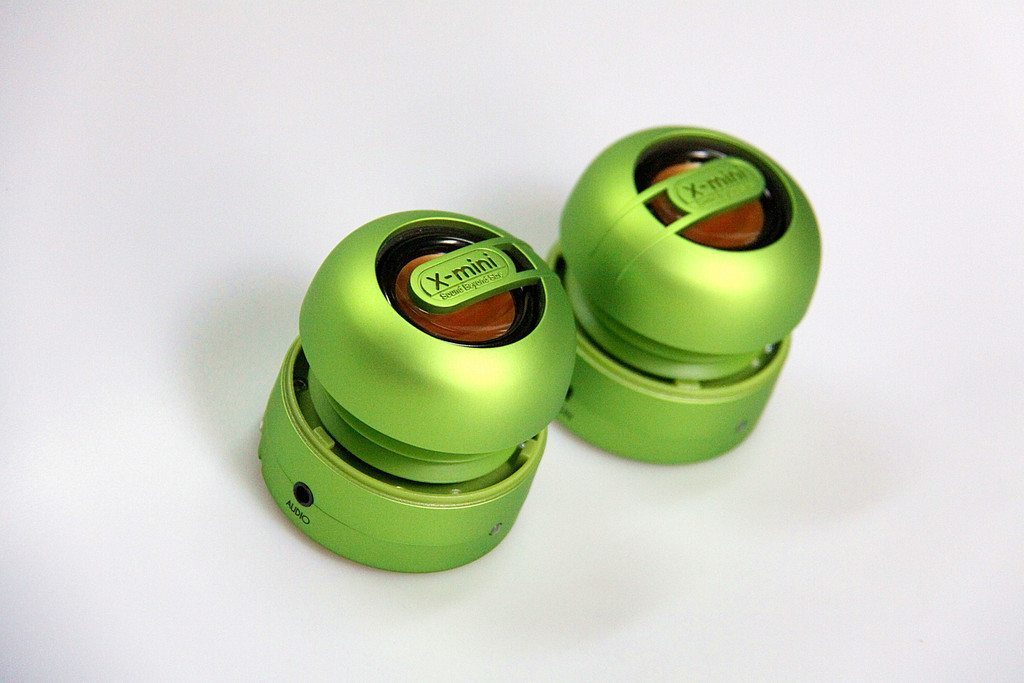 X-mini MAX Portable Capsule Speaker - Green