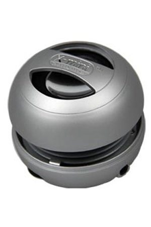 X-mini II Portable Capsule Speaker - Silver