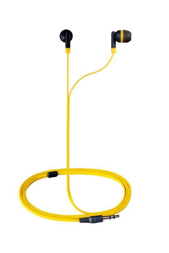 Amplify Revolutionary In-earphones Yellow&grey AM1001/YG