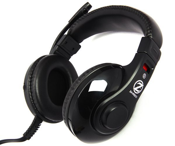 Headphones with mic Gaming ZM-HPS200