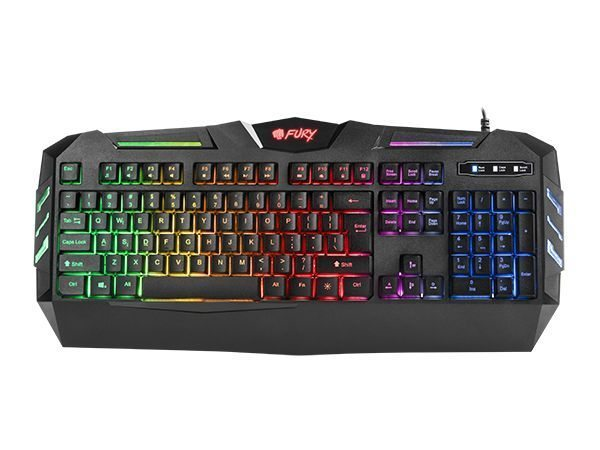 Геймърска клавиатура Gaming Keyboard FURY SPITFIRE NFU-0868