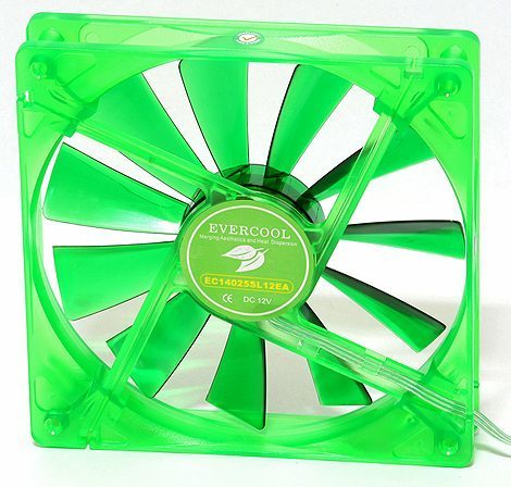 Evercool Fan 140mm Ever Green