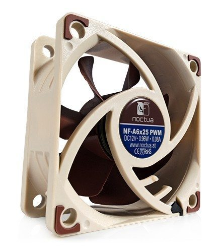 Noctua Fan 60x60x25mm PWM 550-3000rpm NF-A6x25-PWM