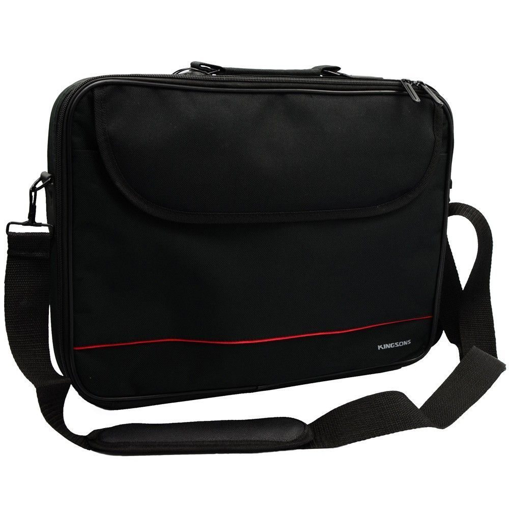 "Kingsons Laptop Bag 15.6"" 325W :: Jet Series - Black"
