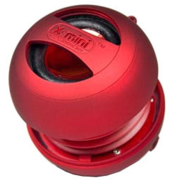 X-mini II Portable Capsule Speaker - Red