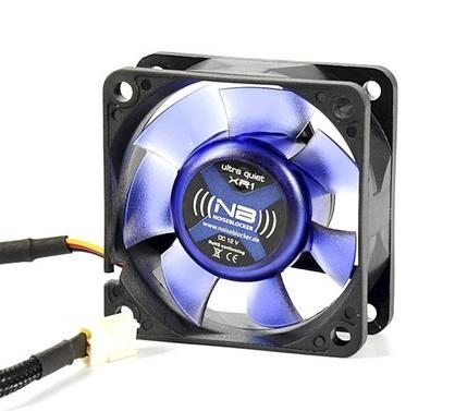 60x60x25mm NB-BlacksilentFan XR1 + Slics 1600rpm