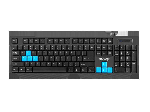 Fury Gaming Keyboard Hornet Nfu 0865 English Dekada Com